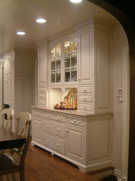 kitchen hutch traditional kitchen detroit by m b