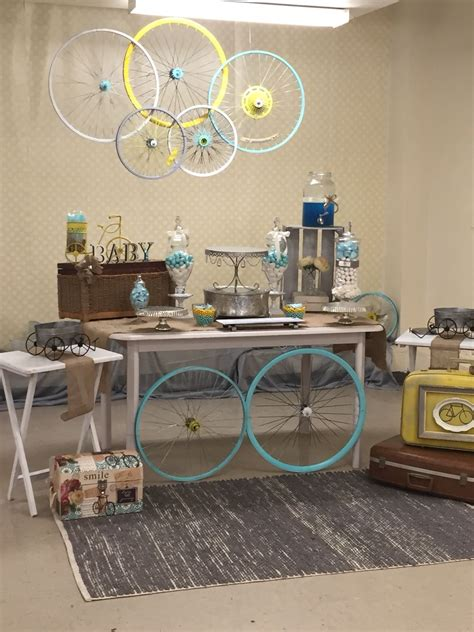 Bike For Baby Shower by Baby Boy Vintage Bicycle Shower R O Decor