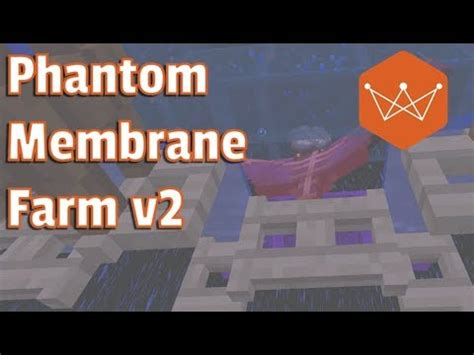 minecraft phantom membrane farm  easier