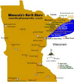 maps minnesota north shore hwy 61 travel