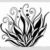 Lotus Flower Black And White Drawing | 1500 x 1356 jpeg 256kB