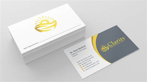 Free Psychology Business Cards Templates by Business Card Design Professional Images Card Design And