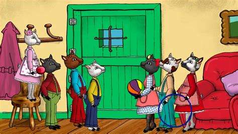 los siete cabritillos y 847864279x los siete cabritillos y el lobo feroz youtube