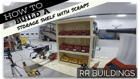 how to build a charging station how to build a storage shelf charging station