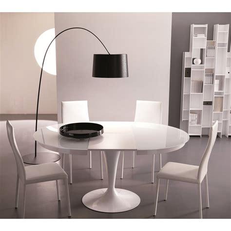 Tavolo Rotondo Allungabile Bianco by Tavolo Bianco Rotondo Idee Di Design Per La Casa