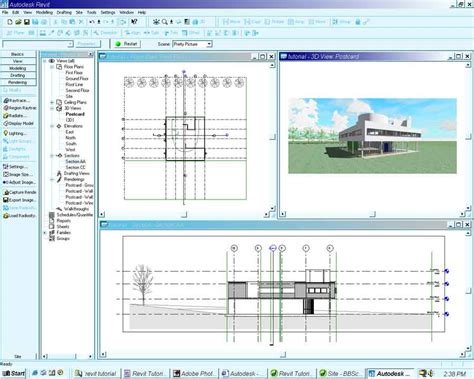 revit tutorial project browser it has begun stressfree
