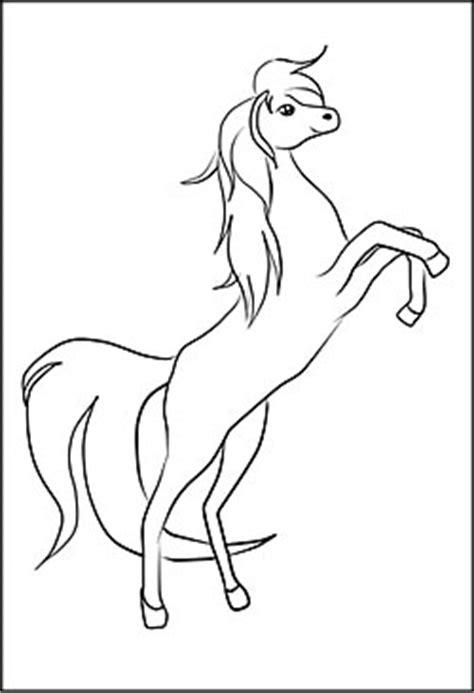pferde malvorlagen und ausmalbilder fuer kinder
