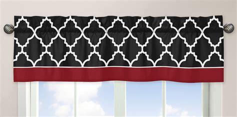 Black Window Cornice Sweet Jojo Designs And Black Trellis Collection Window