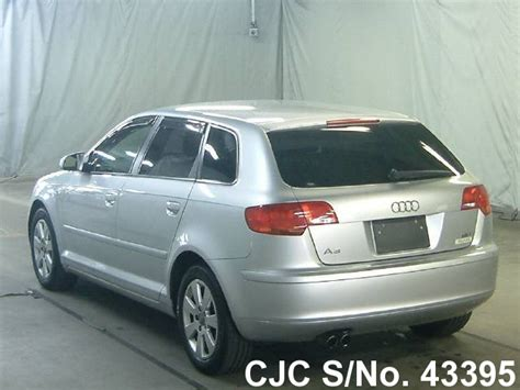 2007 audi a3 for sale 2007 audi a3 silver for sale stock no 43395 japanese