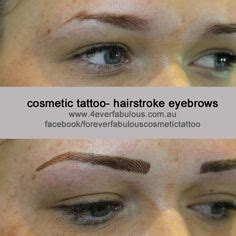 tattoo eyebrows great yarmouth before immediately after and healed after cosmetic