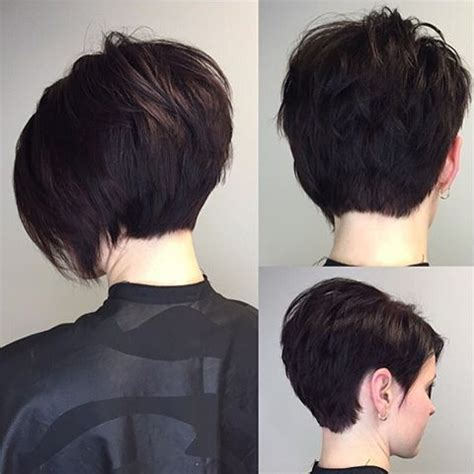 changing hairstyle from bob to cut i love when someone wants a huge change short