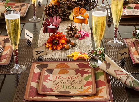 thanksgiving themed events rustic thanksgiving decorating ideas party city