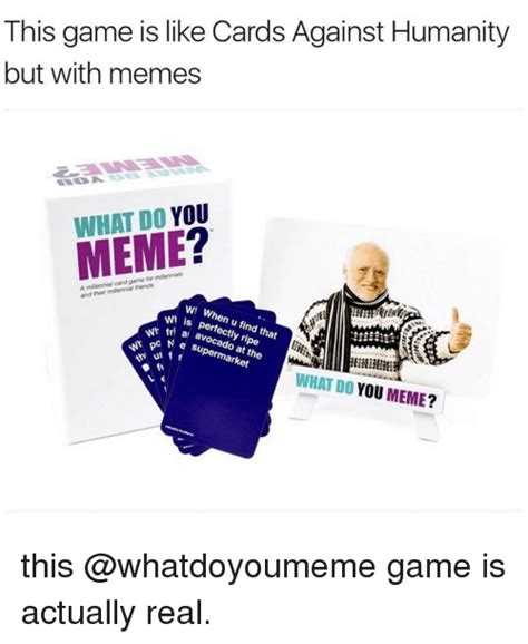 memes  card  humanity card