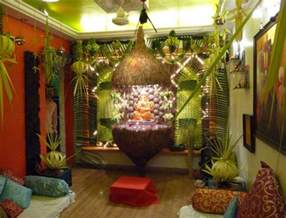 Home Decoration Themes by Ganpati Decoration Ideas For Home The Royale