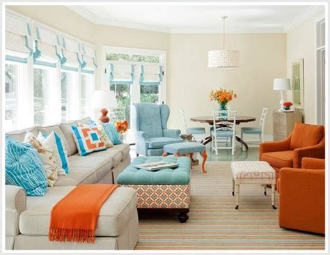 harmonios modern living room color schemes and paint colors 2015 color psychology decorating with orange by tobi fairley