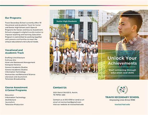 high school brochure template 17 school brochure psd templates designs free