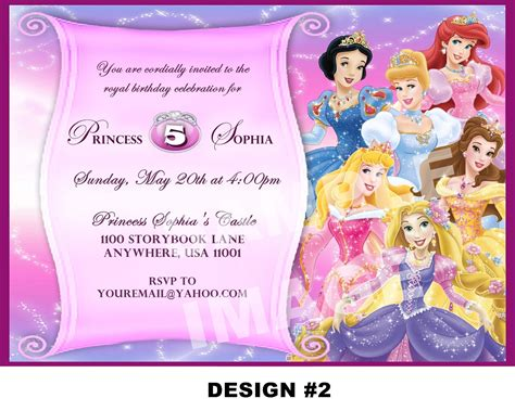 birthday invitation card maker free princess invitations template resume builder