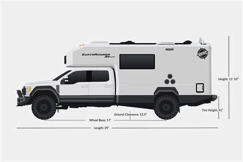 ford earthroamer outdoor aesthetics the ford f550 lts cer by