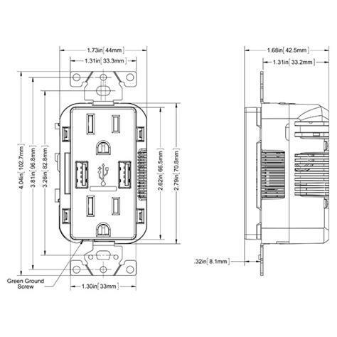 leviton usb outlet wiring wiring diagrams wiring diagrams