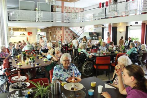 elderly housing new housing model lets students stay at a senior