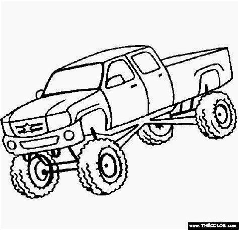 bigfoot monster truck coloring truck coloring sheets free coloring sheet