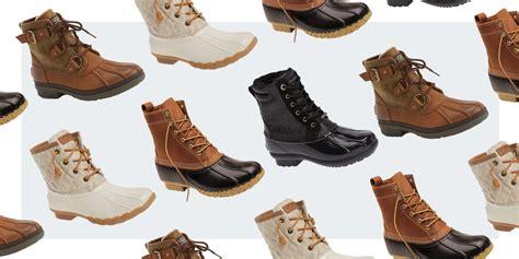 best duck boots 9 best duck boots for winter 2018 waterproof duck boots