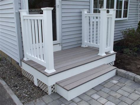 Wooden Front Stairs Design Ideas Extraordinary Decoration Design Ideas For Wonderful Front Step Charming Front Porch Step Design