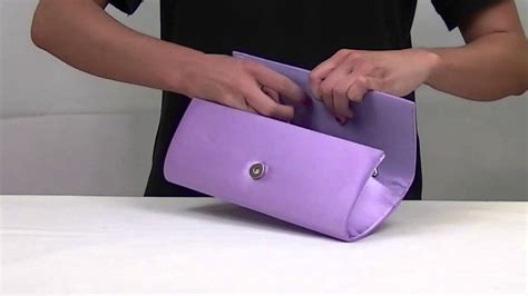 How To Make A Clutch Purse Out Of Paper - satin trimmed clutch bag au39664