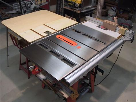 Ridgid Table Saw Extension by 3650 Outfeed Table Ridgid Plumbing Woodworking And