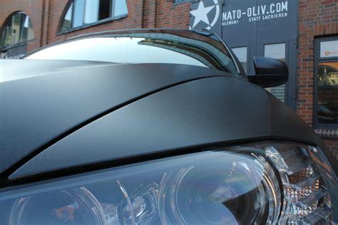 Folie Schwarz Metallic Matt by Bmw X6 In Schwarz Metallic Matt Nato Oliv