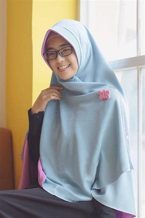 Syar I Alila Khimar Perdana Birumuda Pink bergo berry perdana lavender biru alila