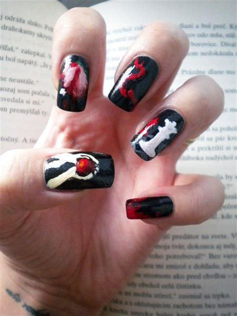 Eclipse Nail breaking eclipse nails new moon twilight image
