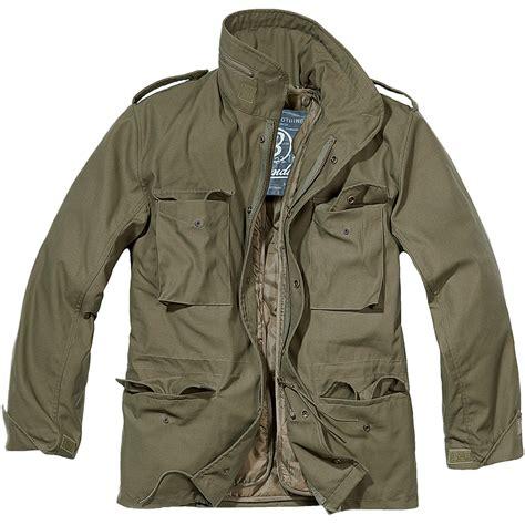 Jaket Parka Green Army Jaket Parka Jumbo Parka Cotton Premium brandit classic m65 mens army field jacket warm travel parka coat olive ebay