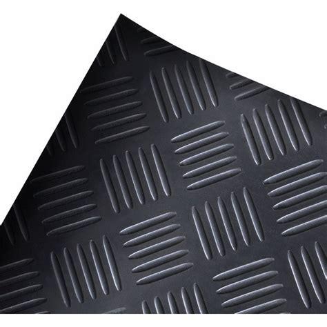 Plate Floor Mat by Checker Plate Anti Slip Rubber Floor Mat Black 5x1m Buy