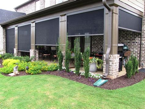 Electric Patio Screens by Motorized Retractable Screen Photos Electric Patio Power