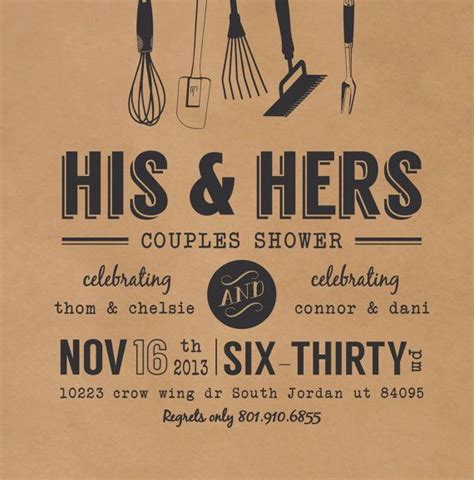 studio his and hers wedding invitations templates