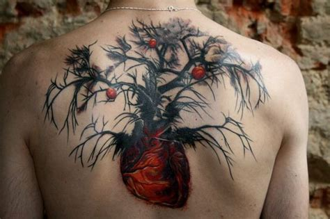 strange tattoo designs the and tree terrorist flower tattoos