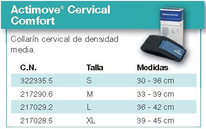 Actimove Cervical Ukuran Xl Berkualitas carrito de compra soportes ortop 233 dicos blandos