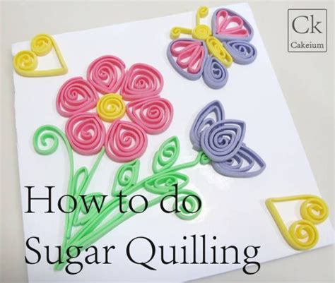 tutorial for quilling fondant how to do sugar quilling beginners guide cakesdecor