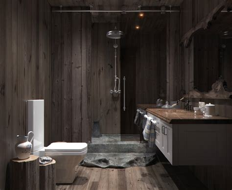 Wood Bathroom by Wood Panel Bathroom Interior Design Ideas