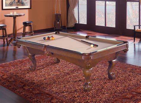 brunswick contender tremont 8 ft pool table