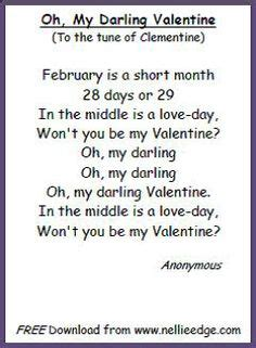 valentines songs for preschoolers s day poem cloze activity and minibook