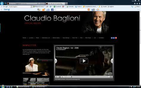 baglioni bello testo concerti claudio baglioni agendaonline it