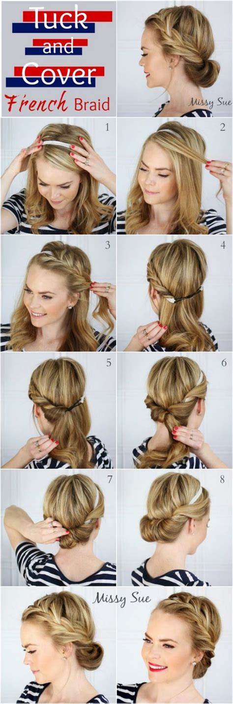 40 easy hairstyles no haircuts for with hair how to style haircuts
