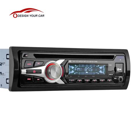 Car Stereo With Aux Port by Universal Car Stereo Radio Audio Player Cd Dvd Mp3 Player