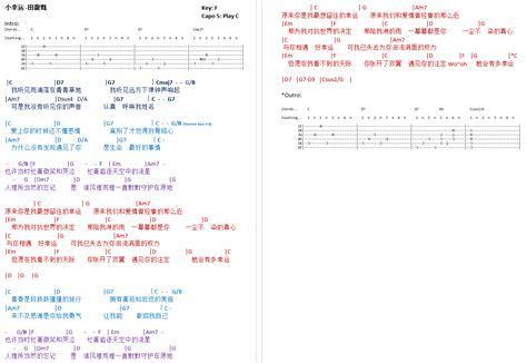 download mp3 xiao xing yun talkingchord com 田馥甄 小幸运 吉他谱 chords