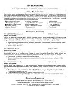 Supply Chain Resume Sle by Operations Administrator Questions Related