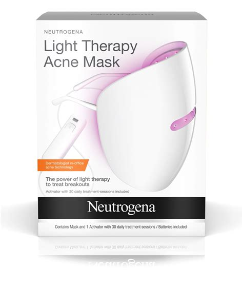 light therapy acne spot treatment light therapy acne mask