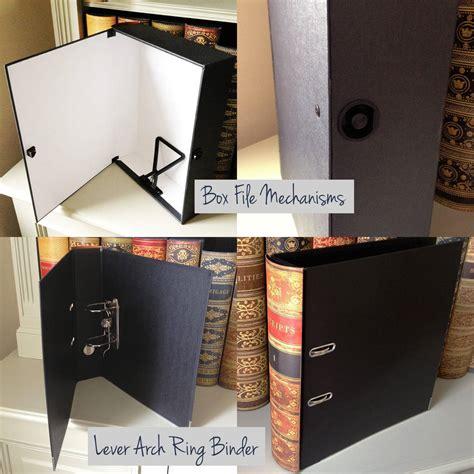Box File Box File Book File book style file storage box or binder by klevercase