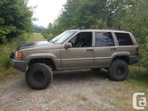 1996 lifted jeep grand limited 4x4 squamish